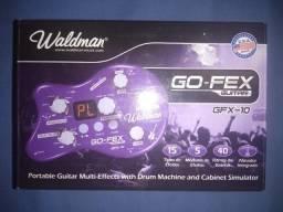 Pedaleira Waldman GO-FEX guitar GFX-10