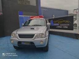 L200 Outdoor Sport Diesel 4x4 TURBO INTERCOOLER COURO RODAS SOM PLACA A IMPECÁVEL