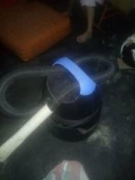 Aspirador Eletrolux água e poeira muito potente três meses de uso