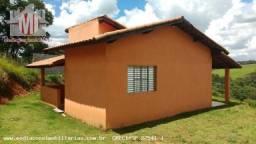 Chácara no alto, nova, vista deslumbrante, 02 dormitórios - Pinhalzinho