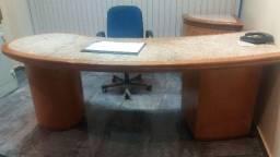 Mesa com granito para escritorio