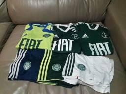 Lote uniforme Palmeiras Adidas. Retirada em Águas Claras