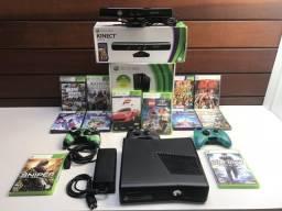 Xbox 360 com Kinect mais 12 jogos