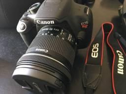 Câmera Canon EOS Rebel T5 Com Lente 10-18mm Impecável