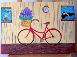 Quadro pintura Namis Bike