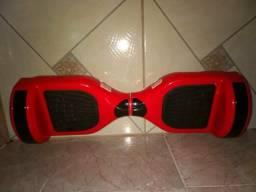 Hoverboard com roda de 6,5 polegadas,com Bluetooth e. luz de led