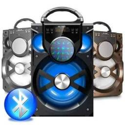Caixa Som Amplificada Bluetooth Mp3 Rádio Fm A-80