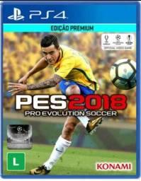 PES 2018 PS4 (Troco no FIFA 18)