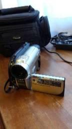 Filmadora dvd sony handycam dvd 650