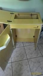 Gabinete para máquina costura singer