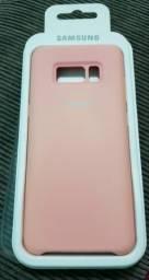 Capa De Silicone Samsung S8 Original (ACEITO CARTÃO DE CRÉDITO E DÉBITO)