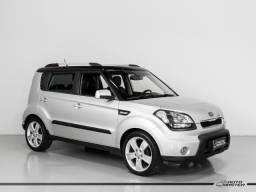 Kia Motors SOUL 1.6/ 1.6 16V FLEX Aut. - Prata - 2011 - 2011