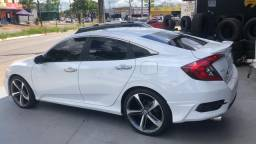 Vendo Honda Civic 1.5 turbo ágio por 60.000 ou quitado 97.000 - 2016