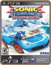 Título do anúncio: Ps3 Sonic e All-Stars Racing Transformed