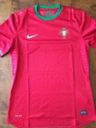 Camisa Portugal 2012 - Original - Modelo Jogador - Tam G 28b4293cfdae3