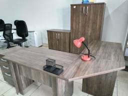 Conjunto móveis escritório novos 4 Peças Direto fábrica
