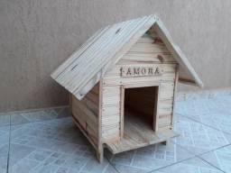 Casinhas de madeira para caes