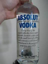 Vodka Absolut 1 litro lacrada