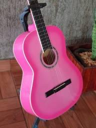 Violão rosa modelo GCX-15PK novo