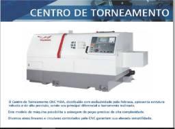 Centro de Torneamento Modelo BML600 Yida