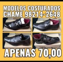 Sapatos sociais costurados marca giolo shoes