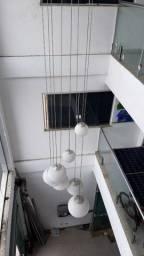 Luminária pendente com bolas alto padrão para sala de estar, empresa, luxo