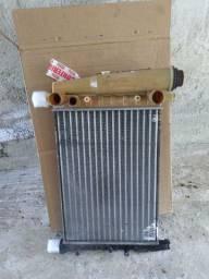 Radiador Fiat uno fire sem ar condicionado