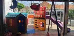 Playground completo escorrega balanço casinha