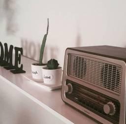 Rádio retrô da Imaginarium