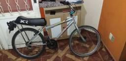 Bike aro 24 com garupa
