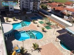 Apartamento com 2 dormitórios à venda, 58 m² por R$ 200.000,00 - Setor Oeste - Caldas Nova