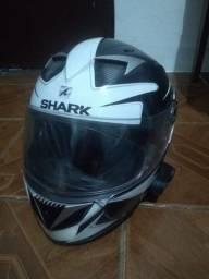 Capacete Shark S900 e Intercomunicador