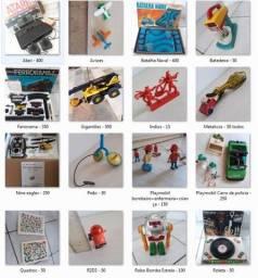 Brinquedos Antigos anos 70 e 80