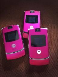 Motorola v3 novinho relíquia