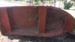 Barco de fibra pesado