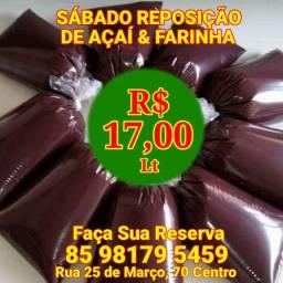 Açaí Puro e Farinha do Pará