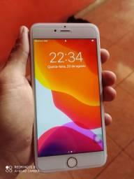 iPhone 7 plus rose 32gb novinho desbloqueado