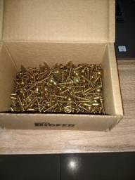 Caixa com 500 Parafusos madeira 4,5 x 25 mm flangeado