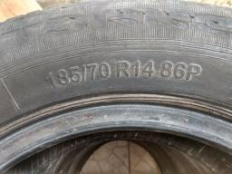 VENDO QUATRO PNEUS ARO 14  185/70