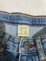 Calça jeans infantil ZARA - TAM  5 e 7