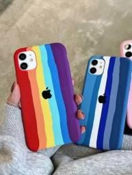 Capa para iphone arco iris