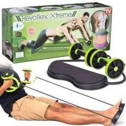 Revoflex Aparelho de exercícios múltiplos pra deixar papai magrinho e fitness!