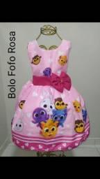 Vestido Bolo Fofo