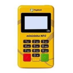 Kit com 5 unidades minizinha nfc máquinas de cartão