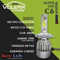 Kit par super Led CINOY Vclear 7800 Lumens 6000K