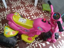 Mini Moto Elétrica Infantil XT3 Fashion 2 Marchas