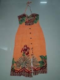 Vestido de alça novo/ Tamanho G / Loja No Anil