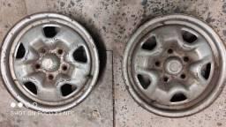 4 Rodas de ferro  Opala / Caravan  original