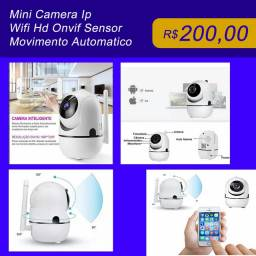 Mini câmera Wifi HD IP