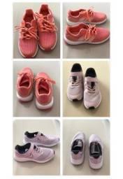Tênis Nike e Adidas Infantil